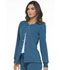Photograph of Simply Polished Women Snap Front Warm-up Jacket Blue EL300-CAR
