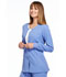 Photograph of Simply Polished Women's Snap Front Warm-up Jacket Blue EL300-CIE