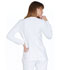 Photograph of Simply Polished Women's Snap Front Warm-up Jacket White EL300-WHT