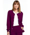 Photograph of Simply Polished Women's Snap Front Warm-up Jacket Red EL300-WIN