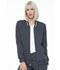 Photograph of Simply Polished Women Bomber Jacket Gray EL310-PWT
