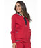 Photograph of Simply Polished Women's Bomber Jacket Red EL310-RED