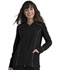 Photograph of Simply Polished Women Zip Front Jacket Black EL325-BLK