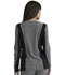 Photograph of Simply Polished Women Zip Front Jacket Gray EL325-HGY