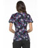 Photograph of Prints a La Mode Women Mock Wrap Top Bouquet of Blooms EL602-BQBL