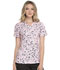 Photograph of Prints a La Mode Women's Mock Wrap Top Dot's The Spot Rosewater EL602-DTRS