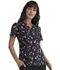 Photograph of Prints a La Mode Women Mock Wrap Top Garden Bloom EL602-GRDB