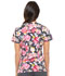 Photograph of Prints a La Mode Women's Mock Wrap Top Rose to The Occasion Pewter EL602-ROPW
