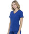 Photograph of Simply Polished Women V-Neck Top Blue EL604-GAB