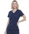 Photograph of Simply Polished Women's V-Neck Top Blue EL604-NAV