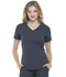 Photograph of Simply Polished Women V-Neck Top Gray EL604-PWT