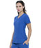 Photograph of Simply Polished Women V-Neck Top Blue EL604-ROY