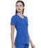 Photograph of Simply Polished Women's V-Neck Top Blue EL604-ROY