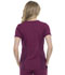 Photograph of Simply Polished Women V-Neck Top Purple EL604-WIN