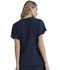 Photograph of Simply Polished Women Round Neck Top Blue EL613-NAV
