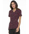 Photograph of Prints a La Mode Women's V-Neck Top Dots So Perfect Red EL615-DTRD