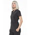 Photograph of Simply Polished Women Mock Wrap Top Black EL620-BLK