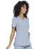 Photograph of Simply Polished Women Mock Wrap Top Blue EL620-CETL