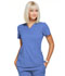 Photograph of Simply Polished Women's Mock Wrap Top Blue EL620-CIE