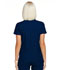 Photograph of Simply Polished Women Mock Wrap Top Blue EL620-NAV