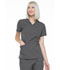 Photograph of Simply Polished Women's Mock Wrap Top Gray EL620-PWT