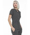 Photograph of Simply Polished Women Mock Wrap Top Gray EL620-PWT