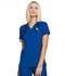 Photograph of Simply Polished Women's Mock Wrap Top Blue EL620-ROY