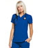 Photograph of Simply Polished Women Mock Wrap Top Blue EL620-ROY