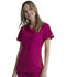 Photograph of Simply Polished Women Mock Wrap Top Red EL620-SORO