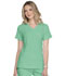 Photograph of Simply Polished Women's Mock Wrap Top Green EL620-SPMT