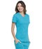 Photograph of Simply Polished Women Mock Wrap Top Blue EL620-TLB