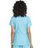Photograph of Prints a La Mode Women's Mock Wrap Top Blue EL620-TRQ