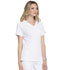 Photograph of Simply Polished Women Mock Wrap Top White EL620-WHT