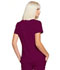 Photograph of Simply Polished Women Mock Wrap Top Purple EL620-WIN