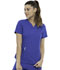 Photograph of Simply Polished Women 2-Pocket V-Neck Top Blue EL622-ROY
