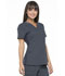 Photograph of Simply Polished Women V-Neck Top Gray EL650-PWT