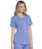 Photograph of Simply Polished Women's V-Neck Top Blue EL690-CIE