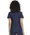 Photograph of Simply Polished Women's Eyelet V-Neck Top Blue EL690-NAV