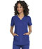 Photograph of Simply Polished Women's V-Neck Top Blue EL690-ROY