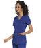 Photograph of Simply Polished Women's Eyelet V-Neck Top Blue EL690-ROY
