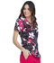 Photograph of Prints a La Mode Women V-Neck Top All A Bloom EL715-ABLO