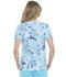 Photograph of Prints a La Mode Women's V-Neck Top Wash The Blooms Away EL715-WABY