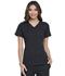 Photograph of Simply Polished Women's V-Neck Top Black EL720-BLK