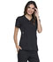 Photograph of Simply Polished Women V-Neck Top Black EL720-BLK