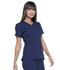 Photograph of Simply Polished Women's V-Neck Top Blue EL720-NAV