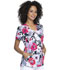 Photograph of Prints a La Mode Women Shaped V-Neck Top Big Bloom EL760-BIGL