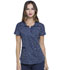 Photograph of Prints a La Mode Women's Shaped V-Neck Top Dot's So Chic EL762-DTSI