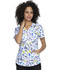 Photograph of Prints a La Mode Women V-Neck Top A Brush Of Color EL763-ABUH