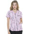 Photograph of Prints a La Mode Women's V-Neck Top Always On The Line EL763-AWON