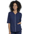 Photograph of Simply Polished Women Zip Up Top Blue EL770-NAV